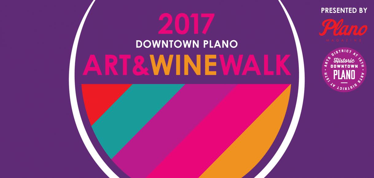 Downtown Plano Arts and Wine Walk